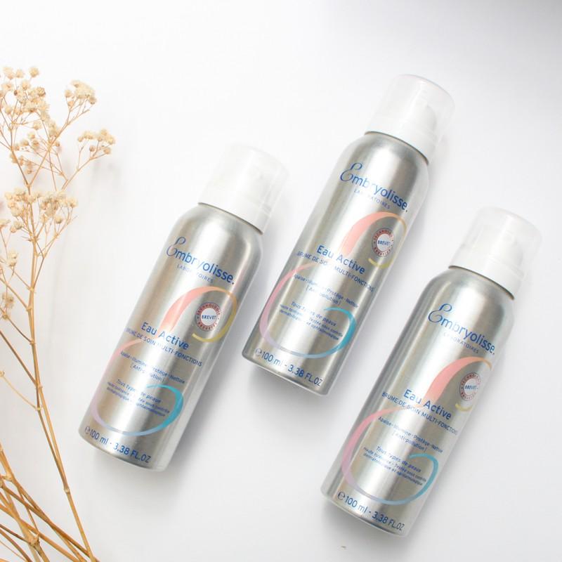 embryolisse-WODA AKTYWNA 100ml-Wielofunkcyjna pielęgnacja do twarzy o działaniu wygładzającym, rozjaśniającym, oczyszczającym i ochronnym.