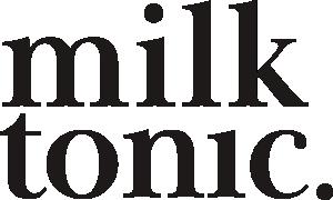 logo milk & tonic butikowy sklep z kosmetykami