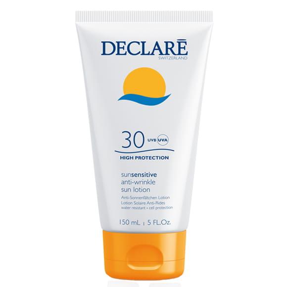 DECLARE Przeciwzmarszczkowe mleczko do ciała SPF 30+, Krem z ochroną UV