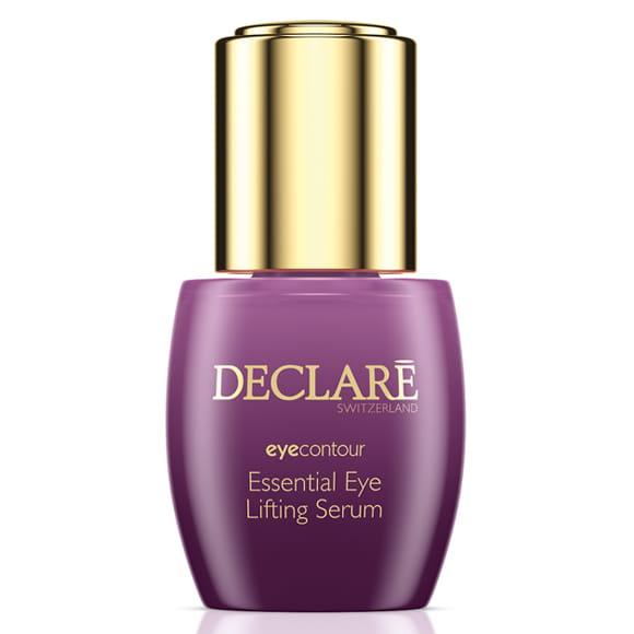 DECLARE Serum liftingujące pod oczy, 15 ml. Bogate w substancje aktywne, głęboko wnikające w skórę dojrzałą serum rozświetla i odmładza zmęczoną skórę wokół oczu.