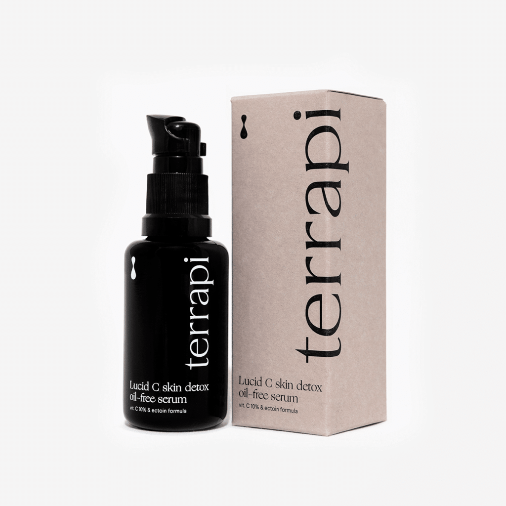 terrapi Lucid C Skin Detox Oil-free Serum Najbardziej stabilna forma witaminy C w stężeniu 10%