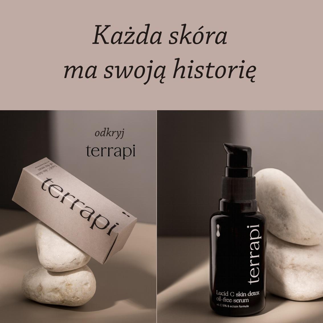 terrami Lucid C Skin Detox Oil-free Serum Najbardziej stabilna forma witaminy C w stężeniu 10%